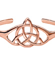 Copper Trinity Knot Bracelet